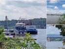 Mündung des Mains am Rhein