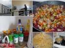 In den Pilgerherbergen wird auch wieder gekocht … (-: