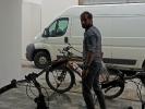 Ich habe das Fahrrad nur dreimal auf der ganzen Reise geputzt und einmal davon in Leipzig bei Katrin