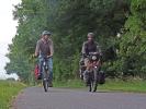 Auf den letzten 120 Kilometer begleitete mich mein Bruder bis nach Cottbus
