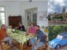 Hier habe ich einen netten Abend mit drei Niederländern verbracht … wir kochten und speisten bei tollen Gesprächen zusammen